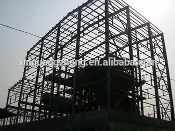 Prefabricated galvanized steel structure warehouse china