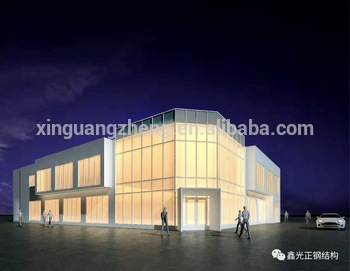 metal steel structure exhibition halls china
