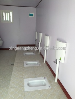 luxury toilet for construction site china