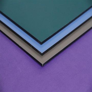 The fastest delivery time 1220 width nano coating aluminum composite panel 3mm & 4mm mirror acp aluminium composite panel