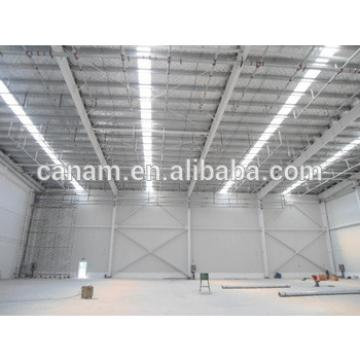 Steel structure warehouse, workshop with sandwich panel roof and wall