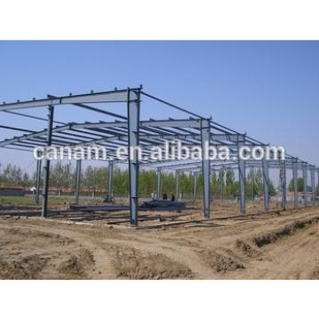 Large span steel structure warehouse light steel warehouse