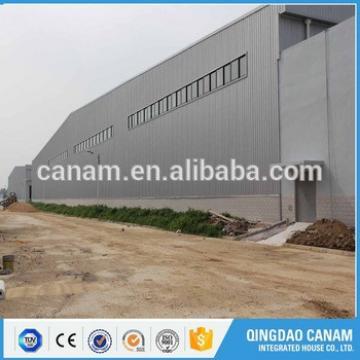 Hot selling prefabricated workshop storage steel structure warehouse building by steel beam