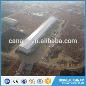 Professional design prefabricated construction steel structure South Africa workshop building with Iso & Ce certification