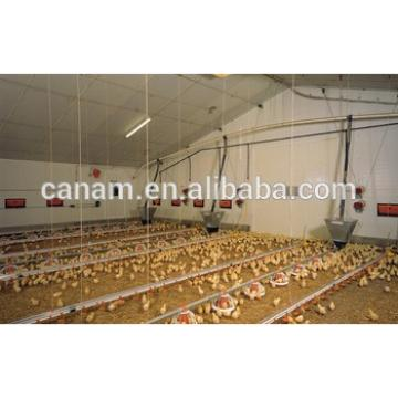 CANAM Prefabricated steel structure chicken house poultry farming