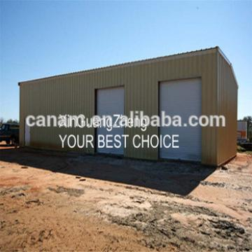 Business partners steel structure prefabricated office building to Saudi Arabia