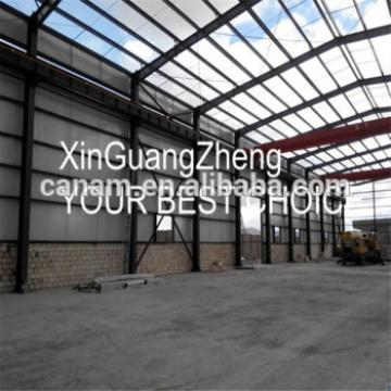 Commercial Cheap prefabricated steel structure building in warehouse by steel beam