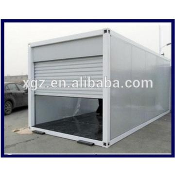 Low cost steel container garage for hot sale