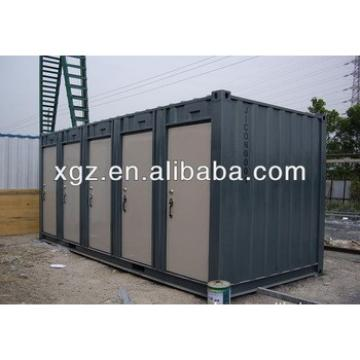40 feet steel structure container house for mobile toilet