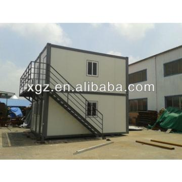two-storey pre-engineered steel structure container house
