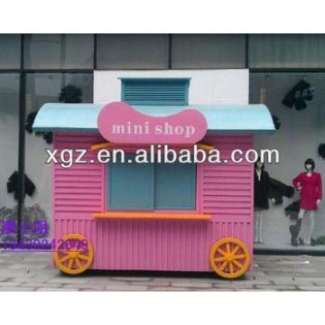 Steel structure prefabricated house for mini shop