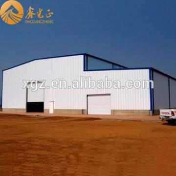 Steel frame steel structure warehouse Ethiopia