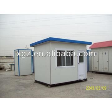 small steel structure prefab house with allumimum windows&doors