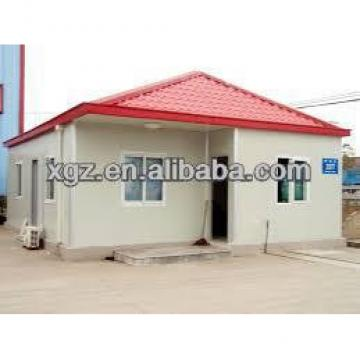 temporary prefabricated house for Angola