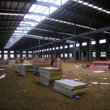 Economic Large Span Steel Structure Prefabricated Industrial Warehouse/Workshops