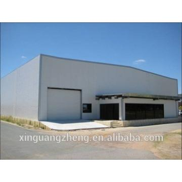 galvanized portal frame steel structure workshop for storage
