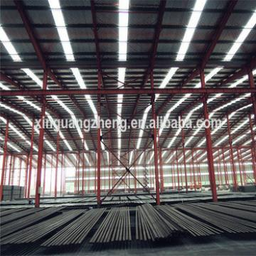 multi-span steel structure workshop for production