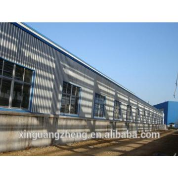 Chinese prefab steel structure workshop manufacturer