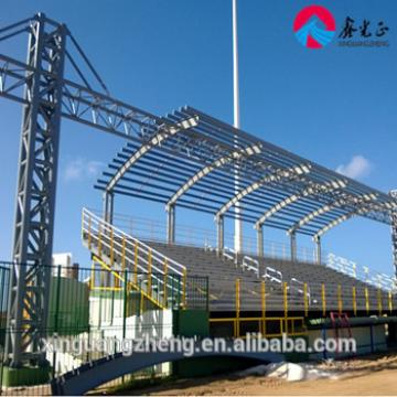 Fabricated H steel structure members onsite assembled project