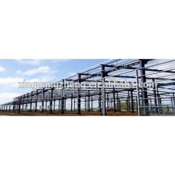 Prefabricated galvanized steel structure warehouse