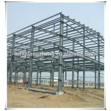 ISO portal frame steel structure exported warehouse
