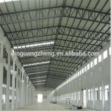 Construction light metal industrial steel frame structure building