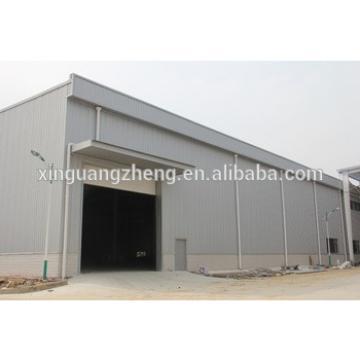 China modern light steel structure warehouse