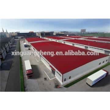 steel structure corrugated sheet warehouse