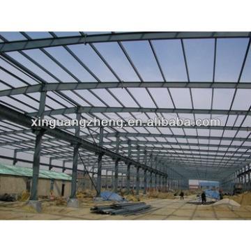 light structural steel frame warehouse