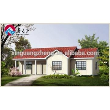 colour cladding steel structure modern prefab house