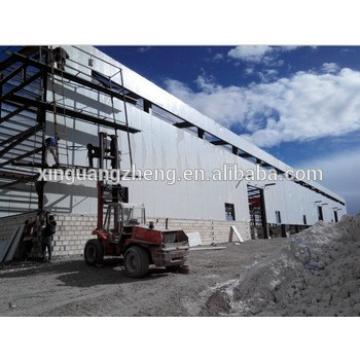 industrial large span metal frame storage warehouse