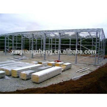 steel structure fast install warehouse interior structure