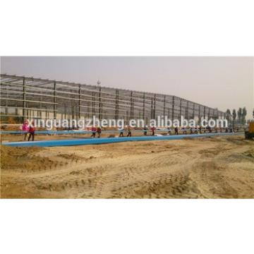 ISO & CE certificated steel structure construction design steel truss warehouse