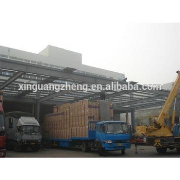 affordable multi-span iron frame warehouse
