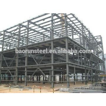 steel structure building flat roof appartments for Europe
