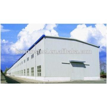 prefabricated professional designed steel structure workshop