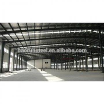Low price large span light steel structure building/warehouse/garage