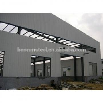 Prefab-engineering light steel structure overhead crane workshop