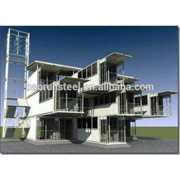 living 40ft container house sgs/iso9001 certificated prefab container house