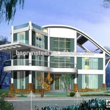 2015 Qingdao Baorun Pre-made light steel modular house / kit home / insulated house for sale