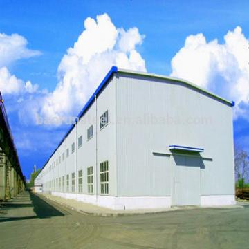 Light steel structure sandwich panel house prefabricated warehouse