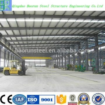 Cheap prefab steel structure large span building