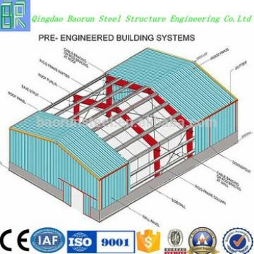 Prefabricated steel structure warehouse drawings for sale