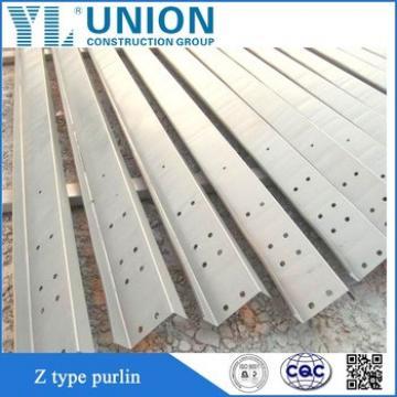 galvanized purlin z steel beam z section steel
