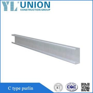 c channel types of purlin Manufacturers