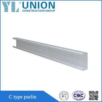 parallel flange channel steel