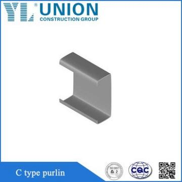 Galvanized C Channel