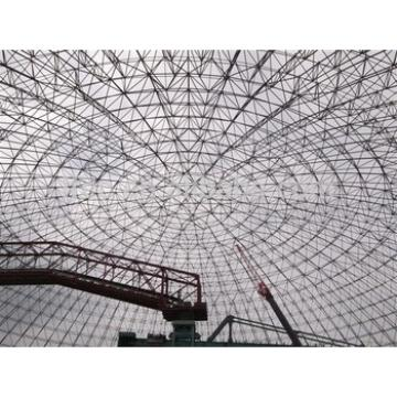 Good Quality Free Design Prefab Grid Structure Curved Steel Roof Trusses