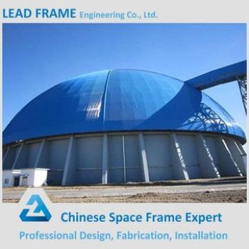 long span prefab steel building dome sheds