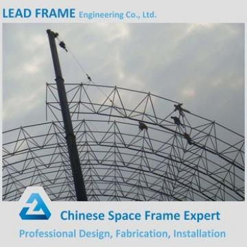 Long Span Strong Windproof Steel Frame Building Curved Steel Roof Trusses